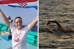 Croatian Dina Levacic becomes 67th person in world to swim Japan's Tsugaru Strait