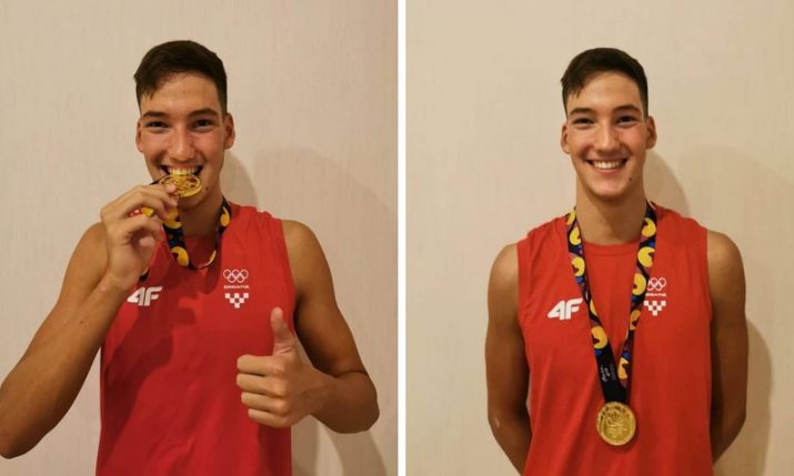 Croatia's Franko Grgic becomes double world swimming champion & sets new world record