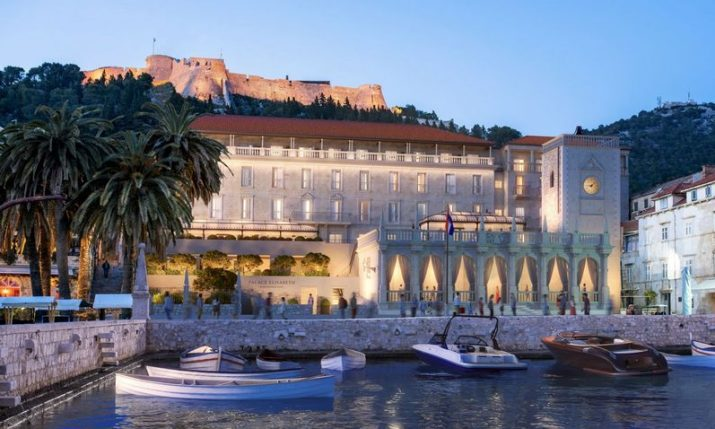 PHOTOS: First 5-star hotel to open on island of Hvar