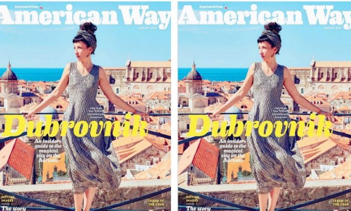 Jazz singer Ines Trickovic the first Croatian to grace cover of American Airlines magazine American Way