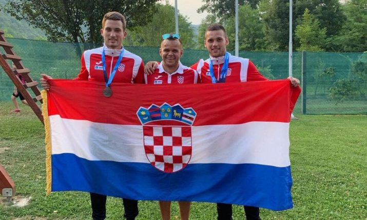 Croatia wins silver medals at canoeing world champs