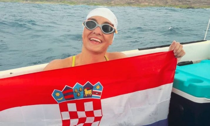Croatian swimmer Dina Levacic to swim Japan's Tsugaru Strait