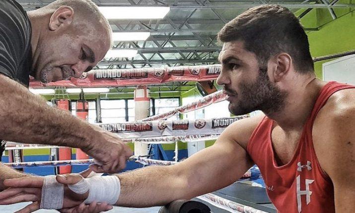 Filip Hrgović v Michael Hunter fight off as American withdraws