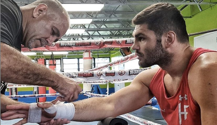 Mitchel hunter v Filip Hrgovic fight cancelled