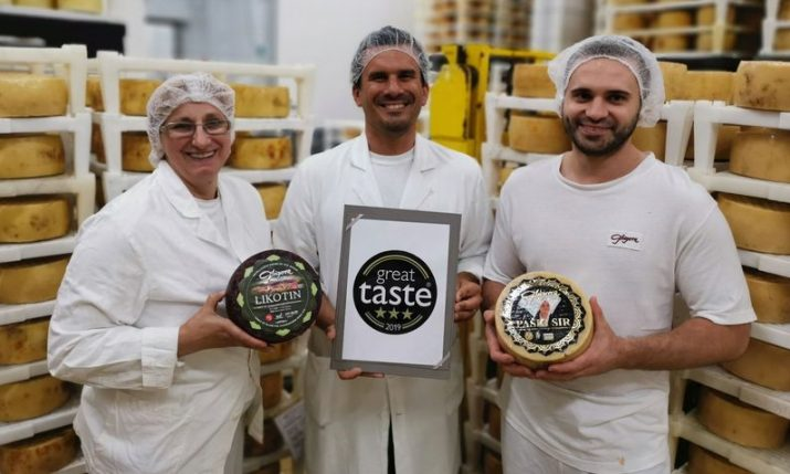 Croatia's Gligora wins prestigious international cheese awards in the UK