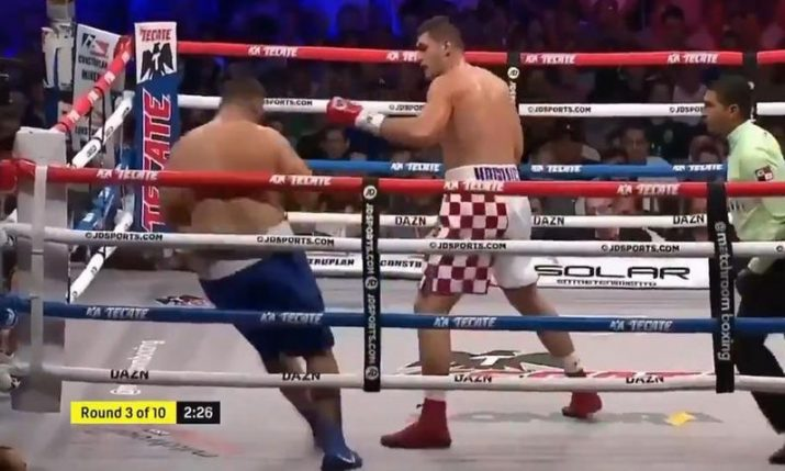 Filip Hrgovic stays unbeaten after knocking out Mario Heredia in Mexico