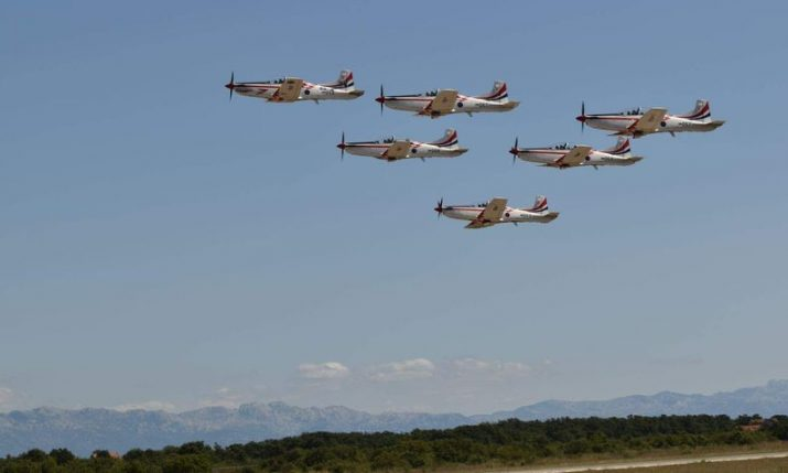 Croatia's Wings of Storm to take part in international airshow in Switzerland