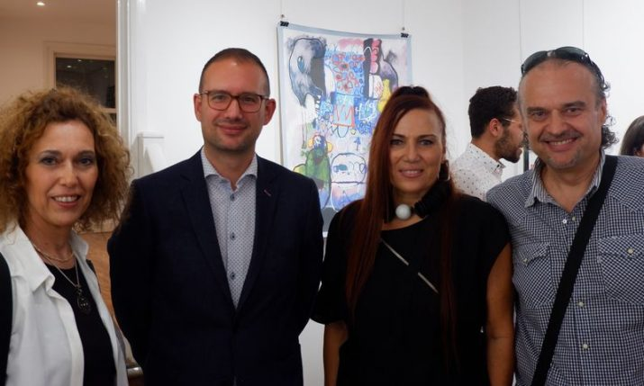 Art exhibition by 3 Croatian authors opened in London