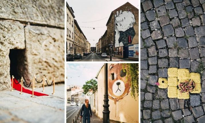 PHOTOS: 'Okolo' brings artistic stories to Zagreb streets