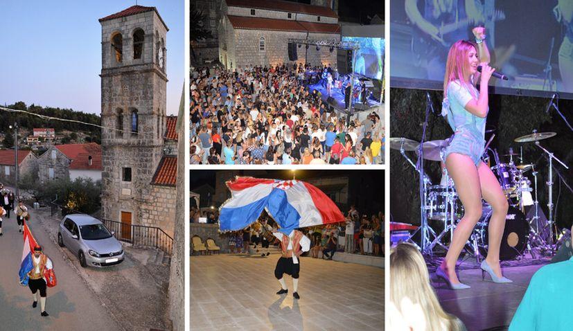 PHOTOS: Pupnat parties to celebrate 'Gospa od sniga' tradition