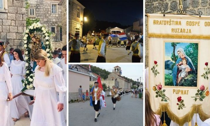 Village of Pupnat on Korcula island readies for its big day