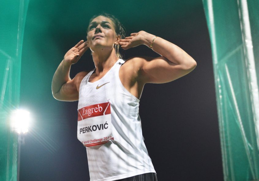 Wins for Sandra Perkovic & Sara Kolak at IAAF World