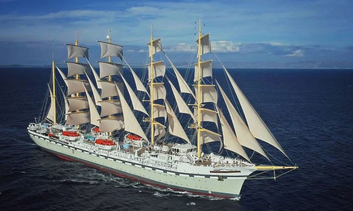 PHOTOS: World's largest sailing ship built in Split in full sail for first time