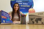 Miss Croatia goes back to school ahead of Miss World contest in London