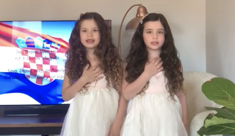 VIDEO: How I taught my girls the Croatian anthem