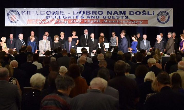PHOTOS: 125th anniversary celebration of Croatian Fraternal Union in U.S. attended by president