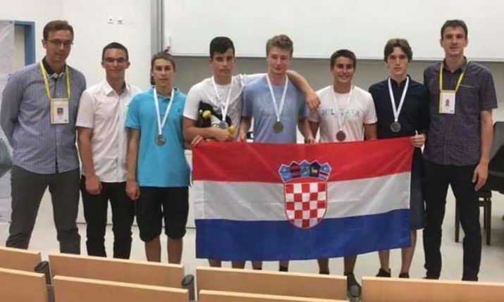 Gold medal for Croatian student at Mathematical Olympiad
