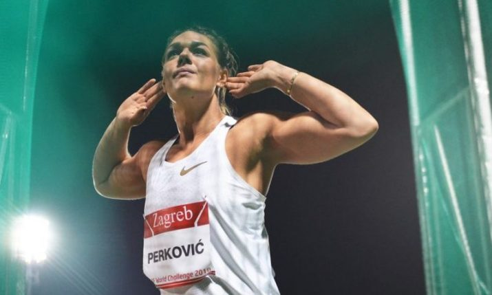 Wins for Sandra Perkovic & Sara Kolak at IAAF World Challenge in Zagreb