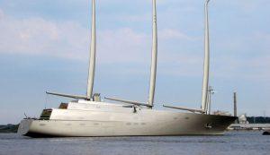 futuristic superyachts spotted in Croatia