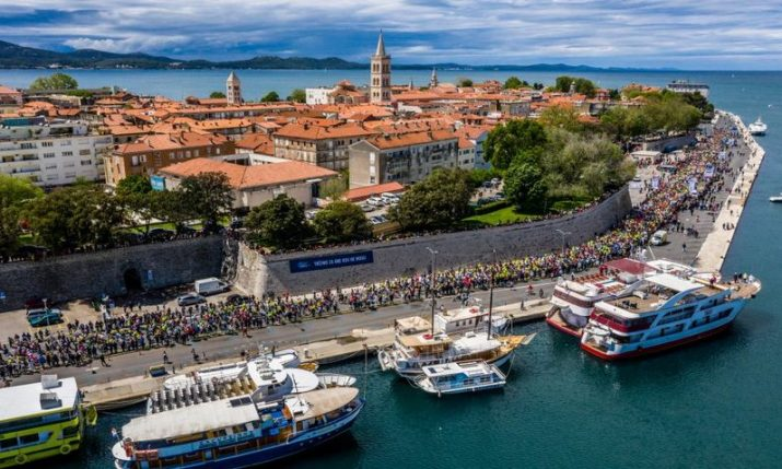 Double-digit increase in tourists to Zadar in 2019