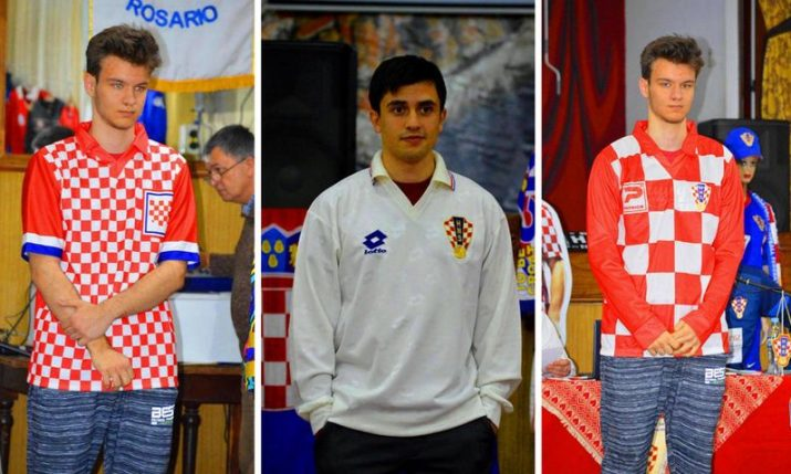 Biggest kit collection showed off at Croatian football history show in Argentina