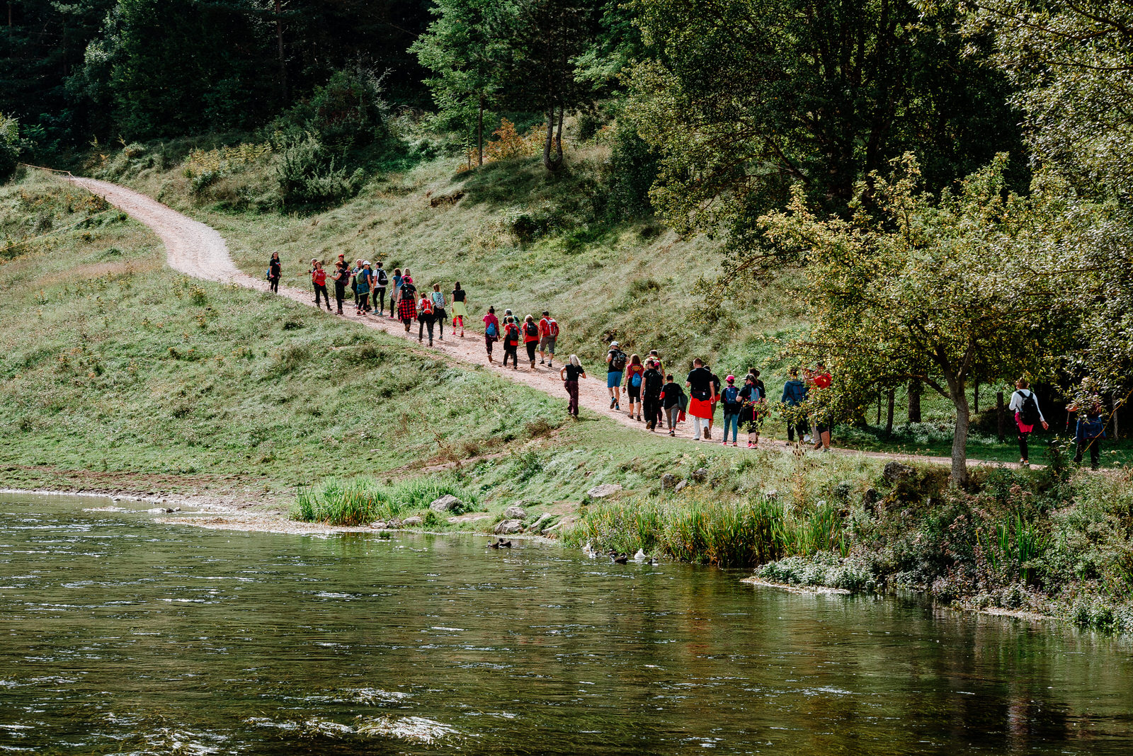 PHOTOS: Over 1,000 people take part in Croatian Walking