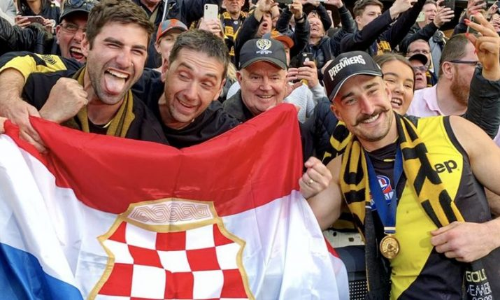 Croatian Ivan Soldo wins AFL Grand Final with Richmond Tigers