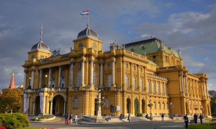 Best of St. Petersburg threatre at Croatian National Theatre in Zagreb