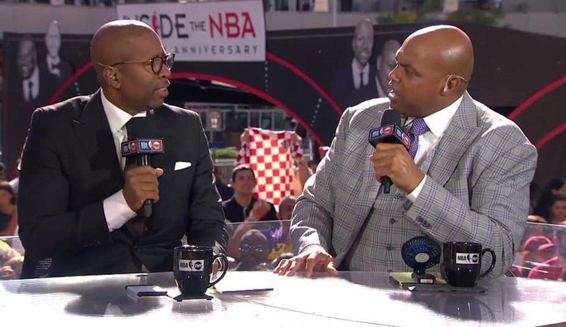 VIDEO: Shaq happy to see Croatia shirt at Lakers v Clippers NBA match
