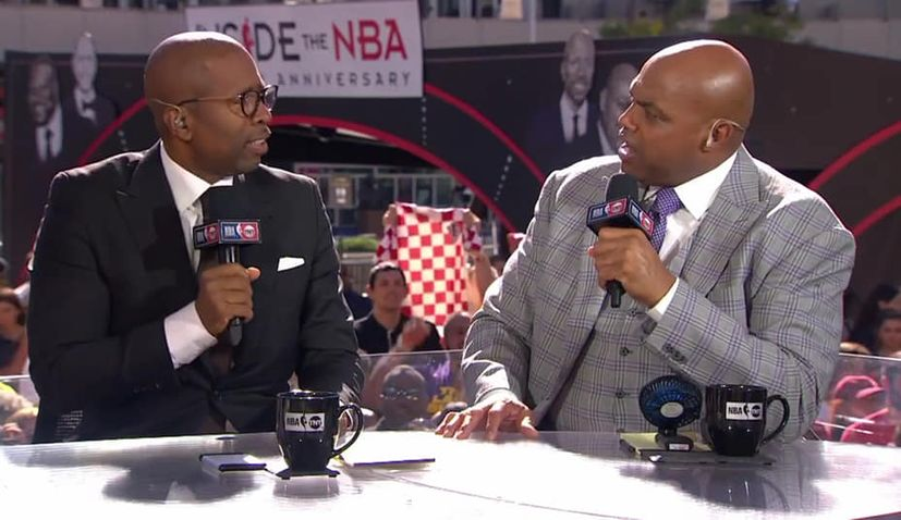 VIDEO: Shaq happy to see Croatia shirt at Lakers v Clippers NBA match