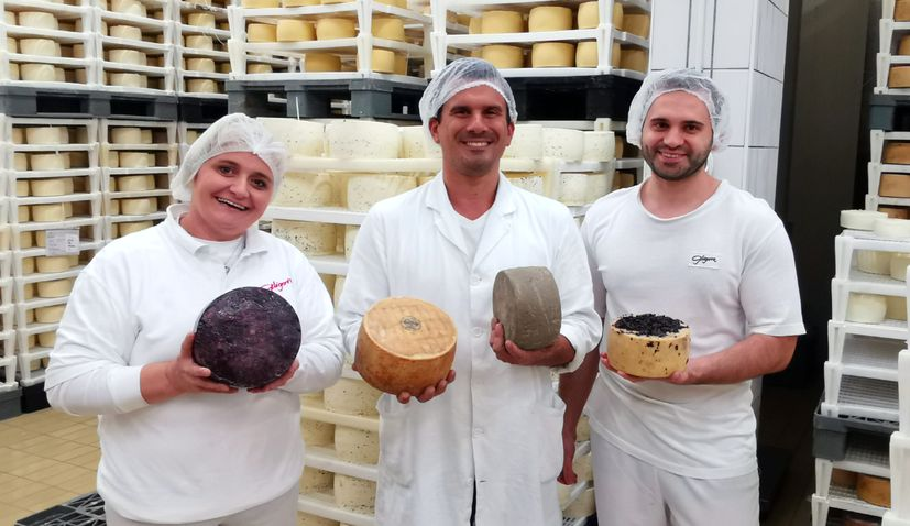 Croatian cheese producer Gligora wins 4 gold medals at World Cheese Awards