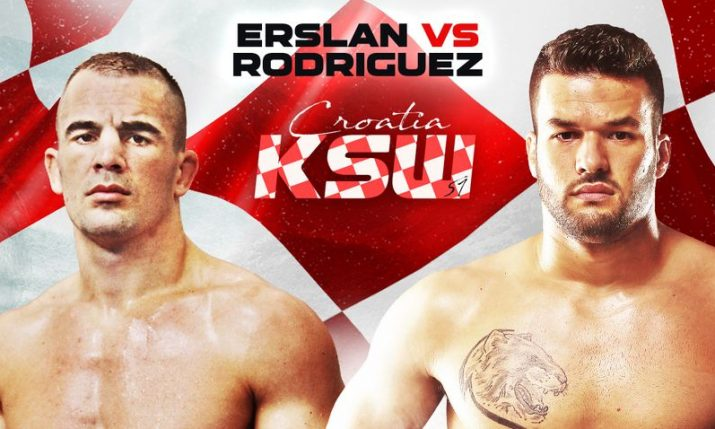 Croatia's Ivan Erslan to fight Darwin Rodriguez at KSW 51 in Zagreb