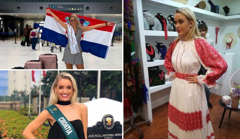 Miss Earth 2019: Nera Nikolic representing Croatia in Philippines
