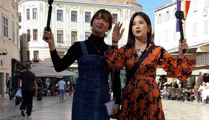 Korea's most popular TV show filming in Croatia with pop stars