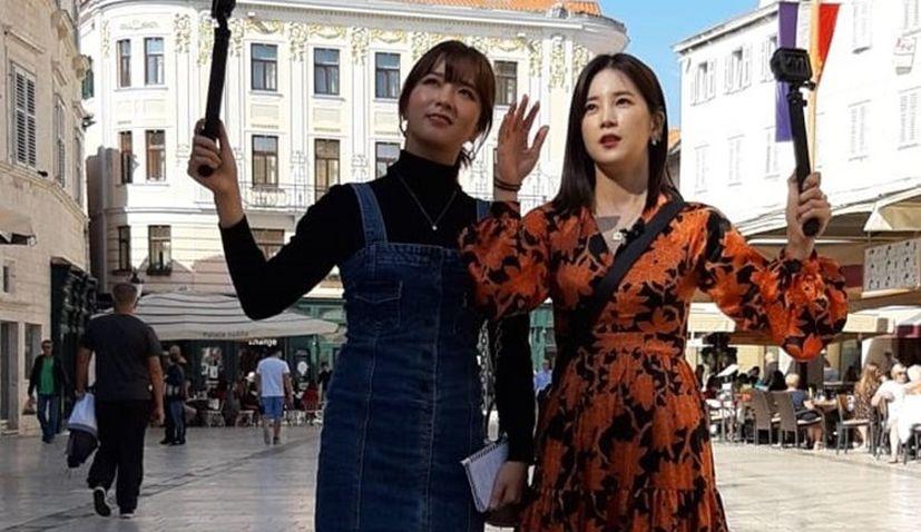 Korea's most popular TV show filming in Croatia with pop stars