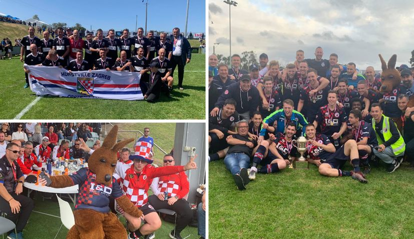 Dandenong City Hajduk win successful 45th Australian Croatian Soccer Tournament