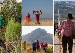 PHOTOS: 1,000 volunteers plant 10,000 trees to reforest fire-damaged Kučine