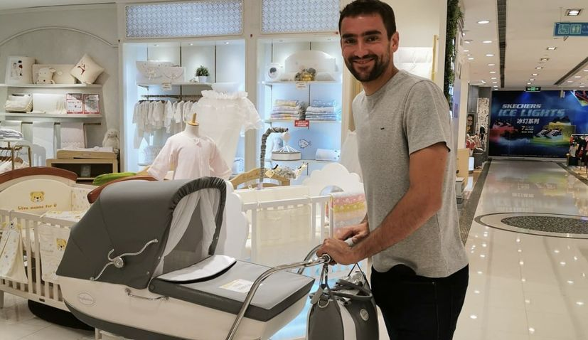 Marin Cilic becomes a father for the first time