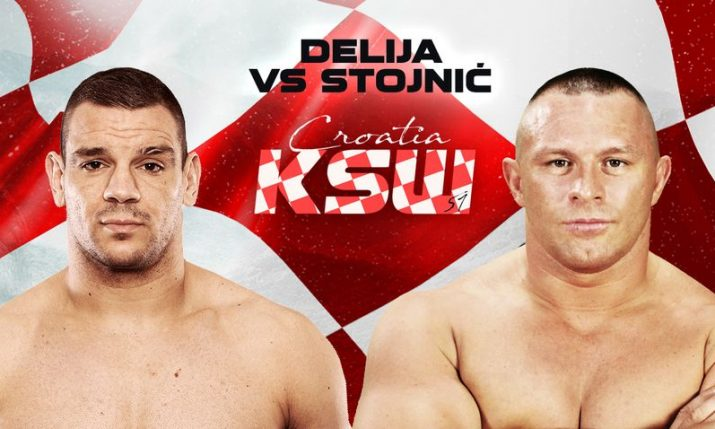Croatia's Ante Delija vs. Bosnia's Denis Stojnic added to KSW 51 in Zagreb