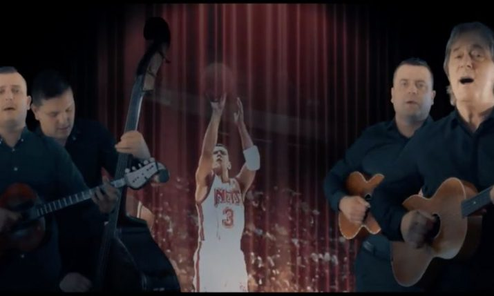 Music video dedicated to basketball great Dražen Petrović premieres