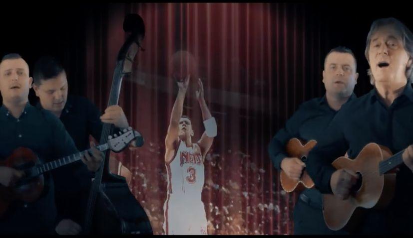 Music video dedicated to basketball great Dražen Petrović premieres