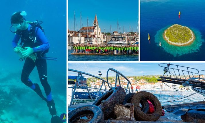 The largest gathering of yacht charter companies in Croatia committed to protecting the Adriatic Sea
