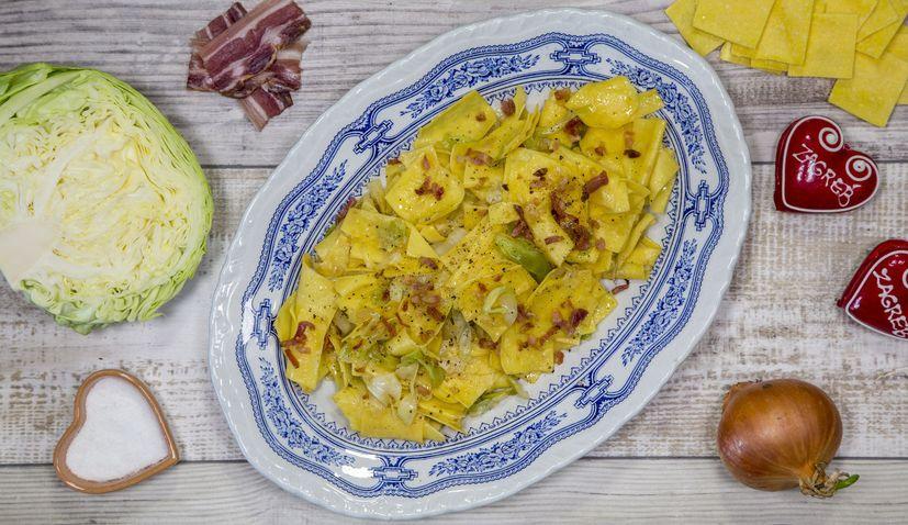 VIDEO: Croatian recipes: Krpice sa zeljem