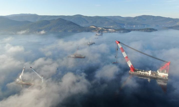 PHOTOS: Peljesac Bridge progress update