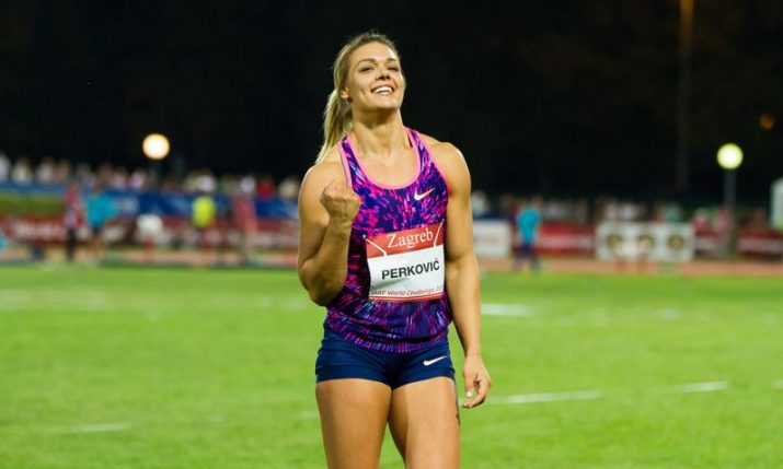 Sandra Perković wins Croatia's first medal at World Athletics Champs in Qatar