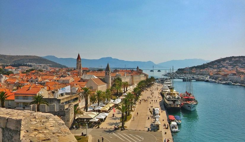 Hajduk Split building a football camp in Trogir