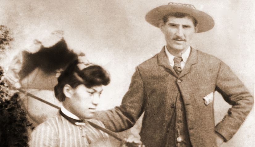 First recorded marriage between a Croatian and Māori in New Zealand