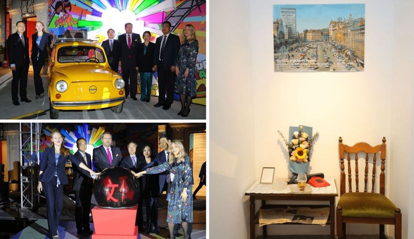 Zagreb in the '80s museum opens in Shanghai