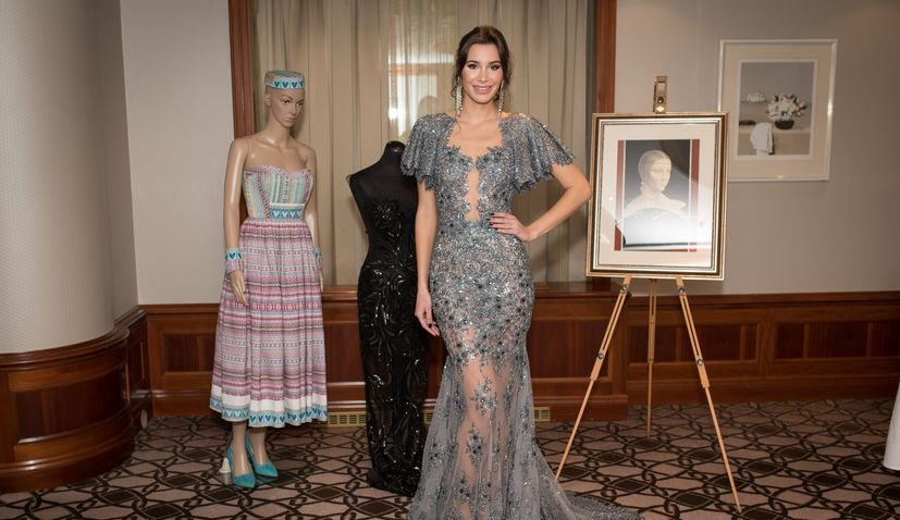 PHOTOS: Miss Croatia reveals dresses for Miss World pageant in London