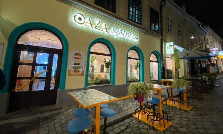 OAZA – New vegan fast-food restaurant in Zagreb